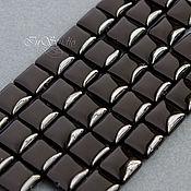Бусины ручной работы. Ярмарка Мастеров - ручная работа Агат 10х10 мм квадрат бусины камни для украшений. Handmade.