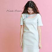 """Одежда handmade. Livemaster - original item Felted dress """"Hummingbird"""". Handmade."""