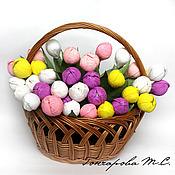 Цветы и флористика ручной работы. Ярмарка Мастеров - ручная работа Сладкий тюльпан. Handmade.