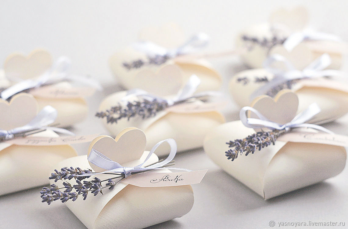 Wedding bonbonniere, lavender (Provence), Bonbonniere, Moscow,  Фото №1