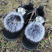 """Обувь ручной работы. Ярмарка Мастеров - ручная работа Валенки, модель """"Морозное утро"""". Handmade."""