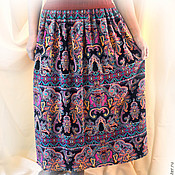 Одежда handmade. Livemaster - original item Skirt summer