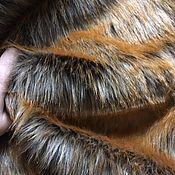 Мех ручной работы. Ярмарка Мастеров - ручная работа Мех искусственный лиса 30х50см длинноворсовый. Handmade.