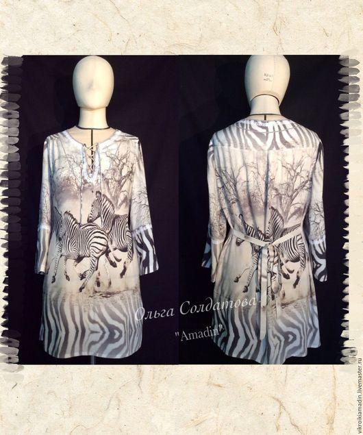 Платья ручной работы. Ярмарка Мастеров - ручная работа. Купить Выкройка 2 платья- рубашки по одной выкройке. Handmade. Белый