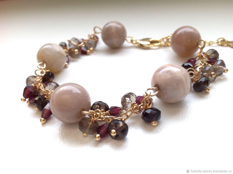 """Браслет """" Солнечный полдень"""", Bead bracelet, Moscow,  Фото №1"""