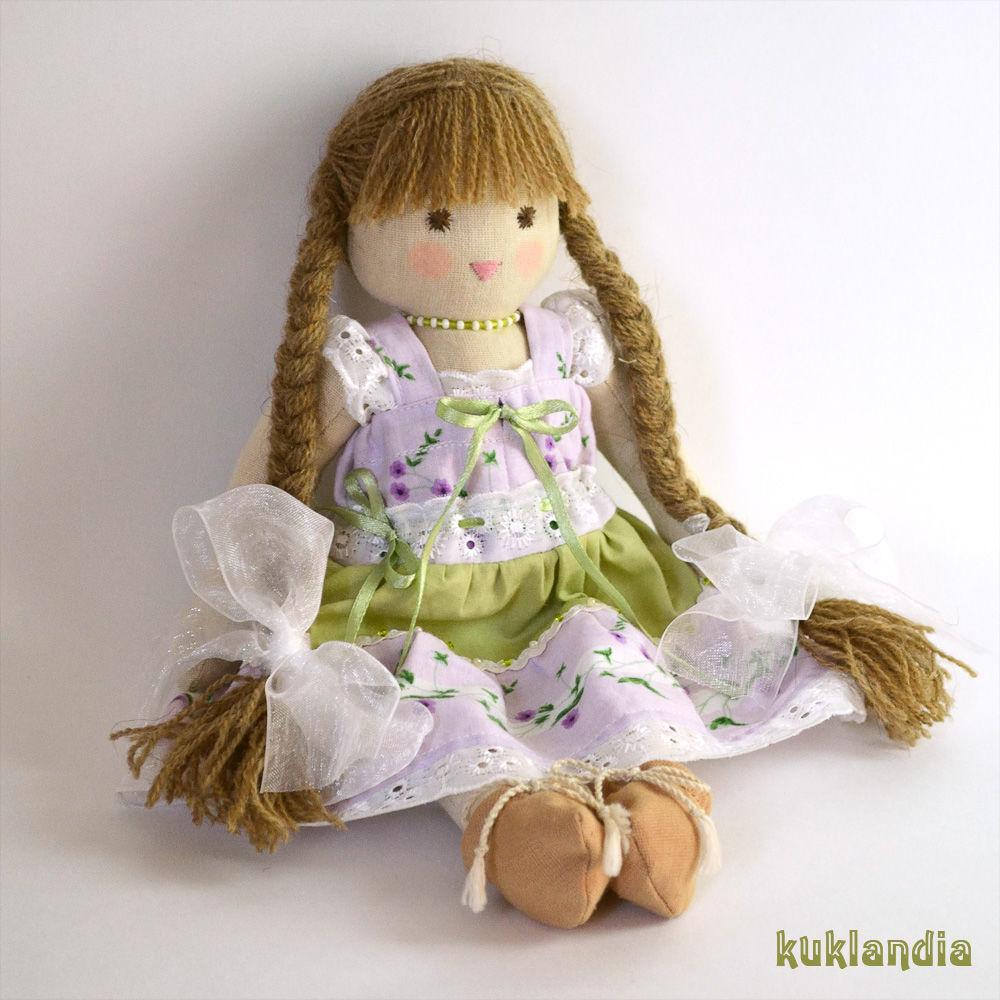 Виола, 30 см, вальдорфская кукла, Вальдорфская игрушка, Самара, Фото №1