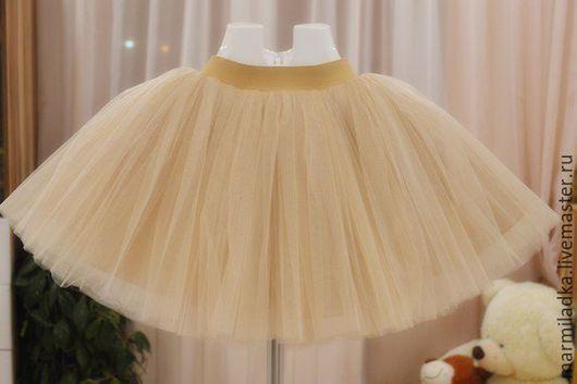 Одежда для девочек, ручной работы. Ярмарка Мастеров - ручная работа. Купить Фатиновая юбка. Handmade. Юбка из фатина, пышная юбка