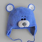 """Работы для детей, ручной работы. Ярмарка Мастеров - ручная работа Шапочка """"Мишка"""". Handmade."""