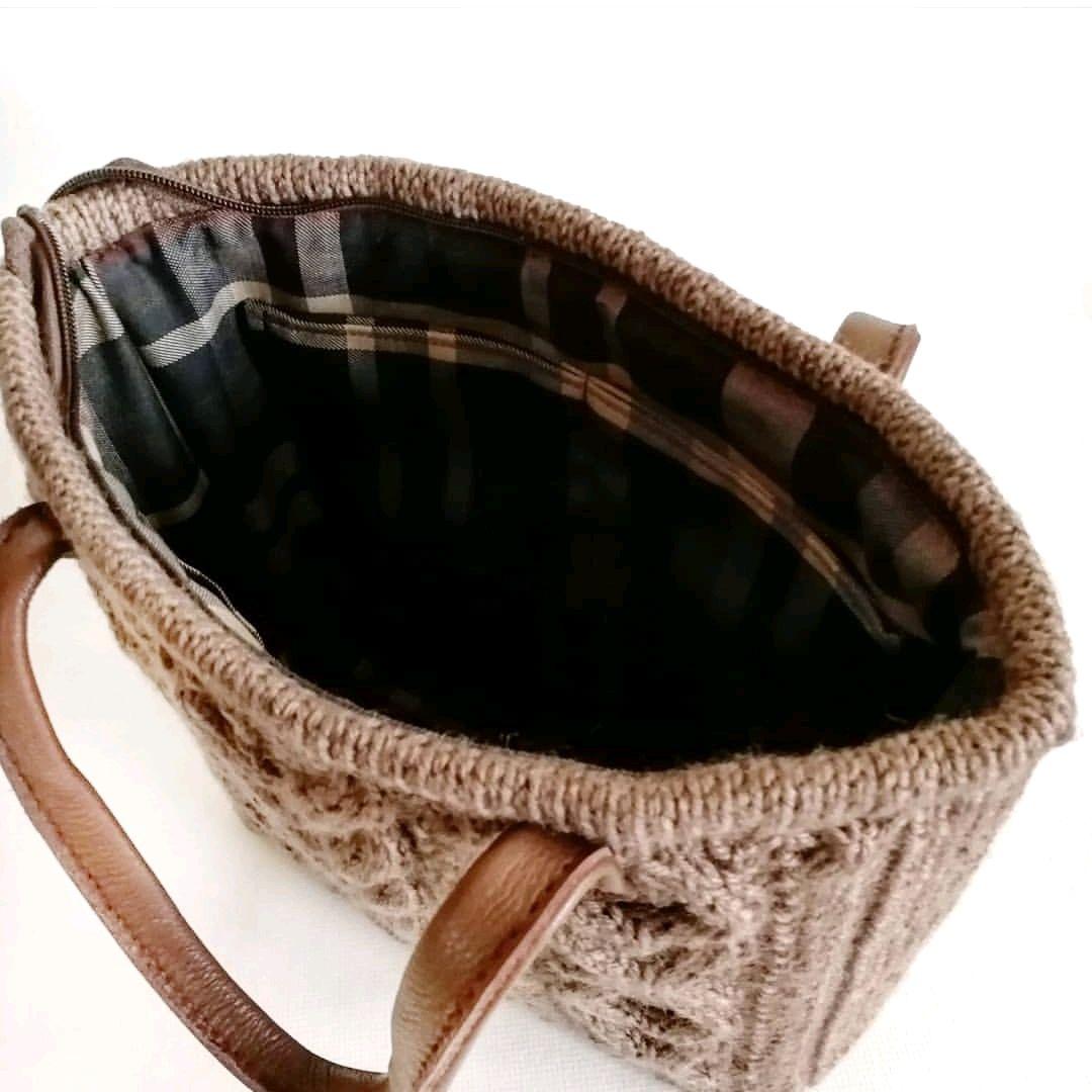 5942fc0e475f Мастер-класс по вязанию спицами сумки
