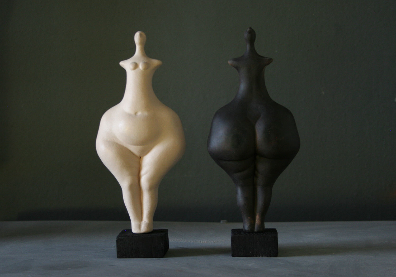 Керамическая статуэтка богини плодородия, палеотическая венера – купить на Ярмарке Мастеров – BZU4VRU | Статуэтки, Санкт-Петербург