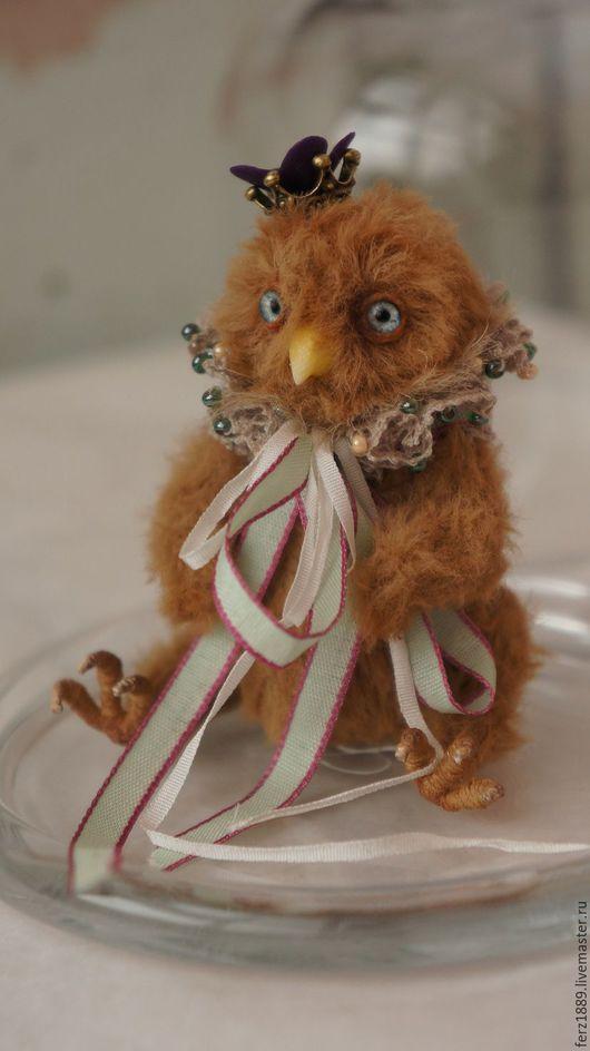 Мишки Тедди ручной работы. Ярмарка Мастеров - ручная работа. Купить Поллен Эльф. Handmade. Мишки тедди, птица, эльф