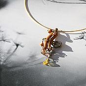 Украшения handmade. Livemaster - original item The pendant on the choker