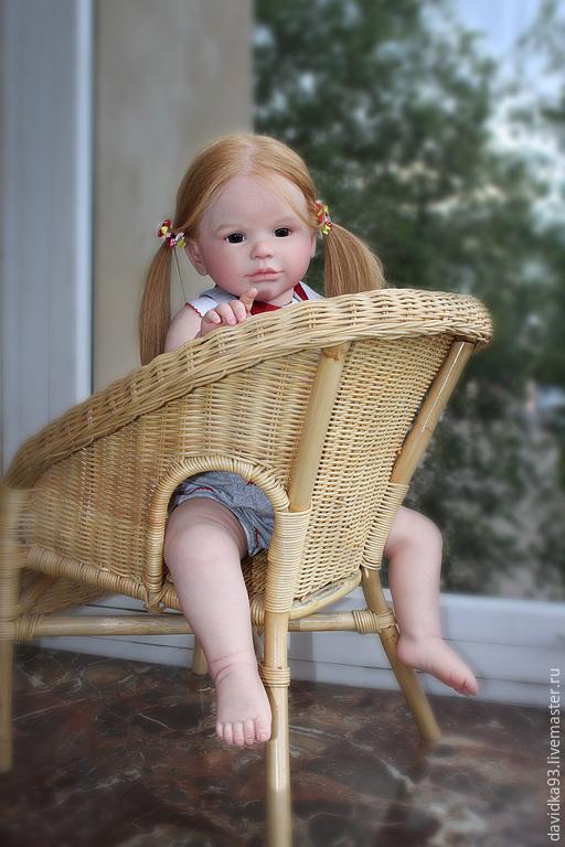 Куклы-младенцы и reborn ручной работы. Ярмарка Мастеров - ручная работа. Купить милая  Эльза из молда Sally2. Handmade. синтепон