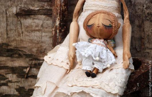 Коллекционные куклы ручной работы. Ярмарка Мастеров - ручная работа. Купить Бабочка-кукла. А-115. Handmade. Белый, сердечко