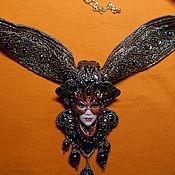 """Украшения ручной работы. Ярмарка Мастеров - ручная работа Колье """"Венецианский карнавал"""". Handmade."""