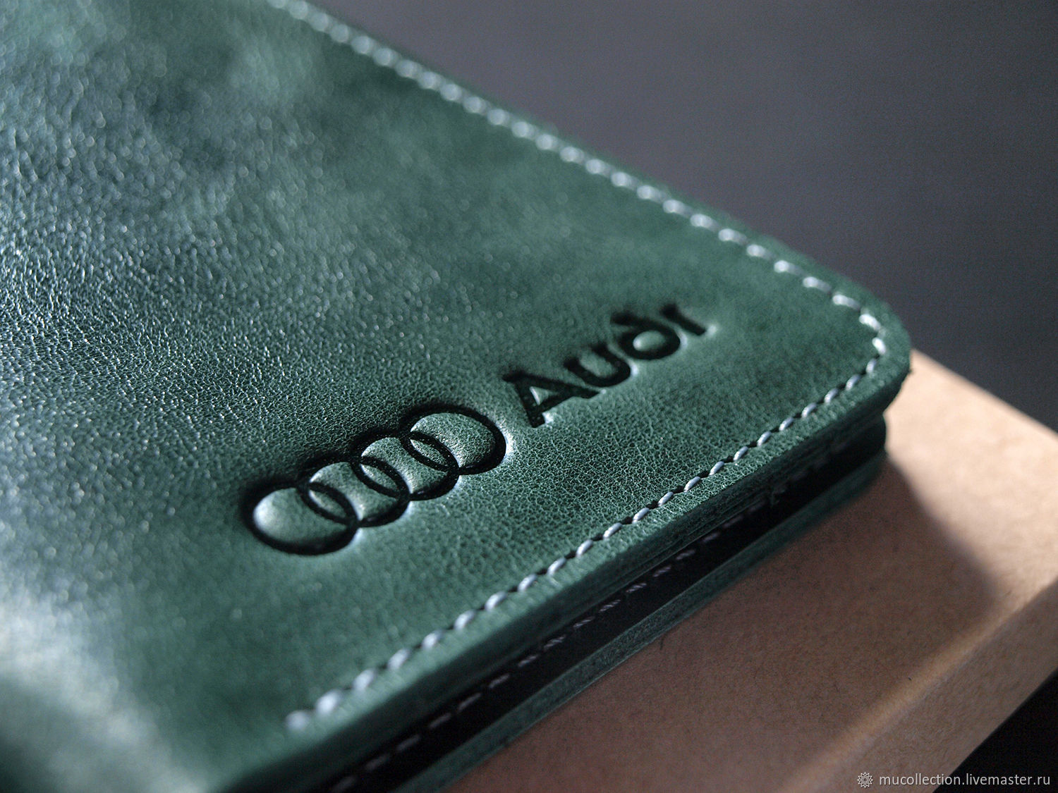Cover for auto documents / / / AUDI, Wallets, St. Petersburg,  Фото №1