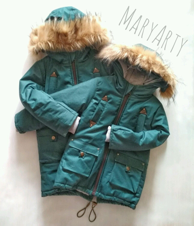 Парка , куртка детская с мехом, Одежда для мальчиков, Санкт-Петербург, Фото №1