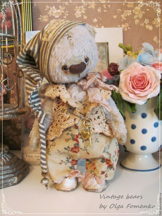 Мишки Тедди ручной работы. Ярмарка Мастеров - ручная работа. Купить Мишка Оливер. Handmade. Мишка, подарок, опилки