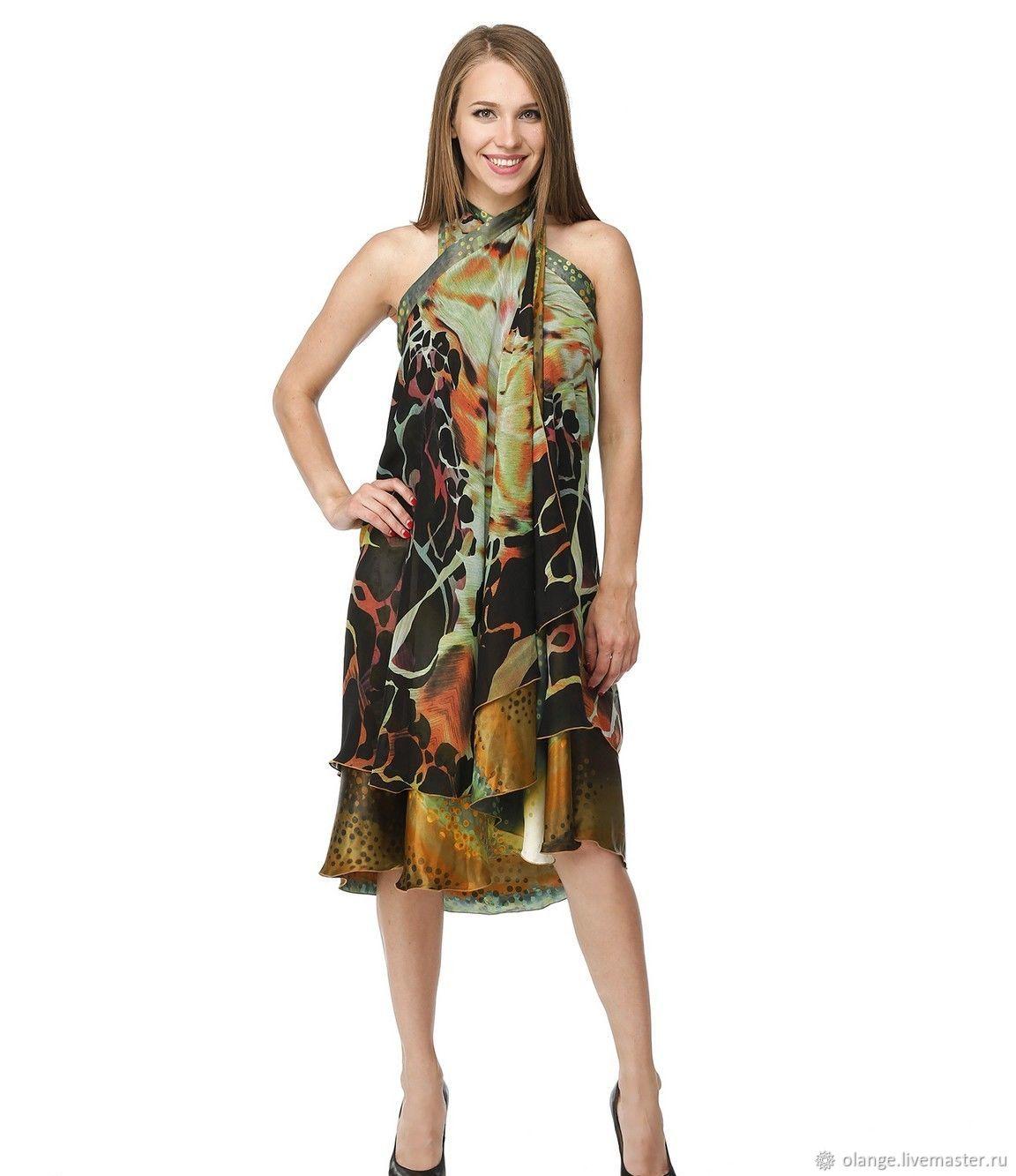 Pareo, transformer dress; 5 in one ('tai'), Pareos, Moscow,  Фото №1