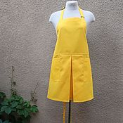 Дача и сад handmade. Livemaster - original item Women`s garden apron with pockets. Handmade.