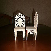 handmade. Livemaster - original item Furniture for dolls: Doll high chair 1558. Handmade.