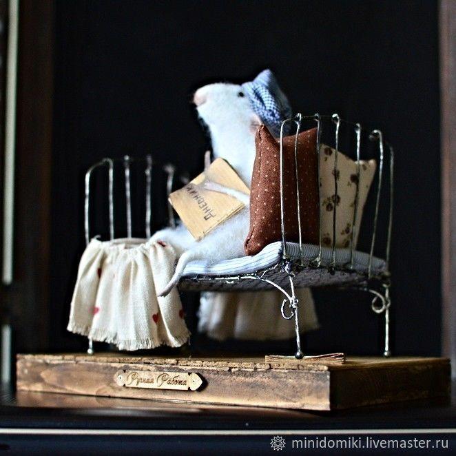Мышонок в кроватке, Мягкие игрушки, Самара,  Фото №1