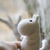 Куклы и игрушки ручной работы. Ярмарка Мастеров - ручная работа Муми-тролль. Handmade.