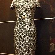 Одежда ручной работы. Ярмарка Мастеров - ручная работа Маленькое платье (джерси, 100% шерсть). Handmade.