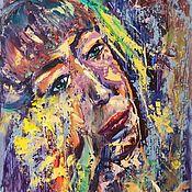 Картины и панно handmade. Livemaster - original item Oil painting of a creative person