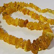 Украшения handmade. Livemaster - original item Beads honey amber. Handmade.. Handmade.