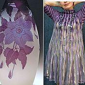 """Одежда ручной работы. Ярмарка Мастеров - ручная работа !Платье """"Сиреневый клематис"""". Handmade."""