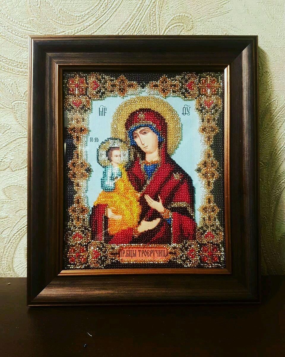 "Богородица "" Троеручица"", Иконы, Москва,  Фото №1"