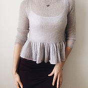 """Одежда ручной работы. Ярмарка Мастеров - ручная работа Пуловер  """"Облачко"""". Handmade."""