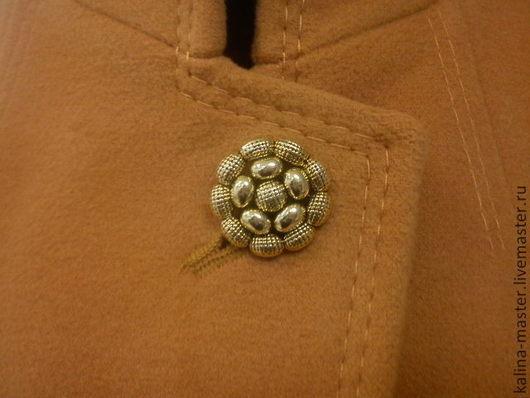 Верхняя одежда ручной работы. Ярмарка Мастеров - ручная работа. Купить Пальто горчичного цвета №1. Handmade. Оранжевый