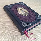handmade. Livemaster - original item The wisdom of big business in the leather-bound Robert green. Handmade.