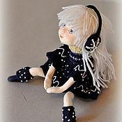 """Куклы и игрушки ручной работы. Ярмарка Мастеров - ручная работа Авторская кукла Мечталка """"Nocturne"""" продана.. Handmade."""
