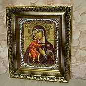 Картины и панно handmade. Livemaster - original item Icon Of The Theotokos