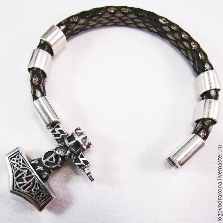 Кулоны для мужских браслетов