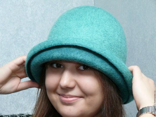 """Шляпы ручной работы. Ярмарка Мастеров - ручная работа. Купить шляпка """" Мятный смузи """". Handmade. Шляпка, мятный"""