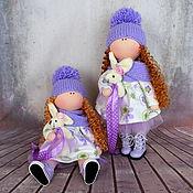 Куклы и игрушки ручной работы. Ярмарка Мастеров - ручная работа Текстильные сестрички. Handmade.