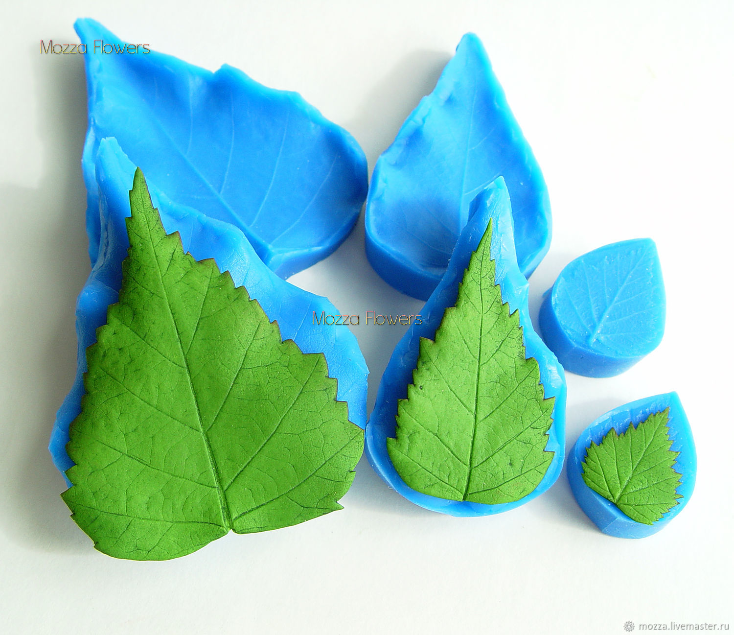 'Birch leaf ' Silicone mold, Molds for making flowers, Zarechny,  Фото №1