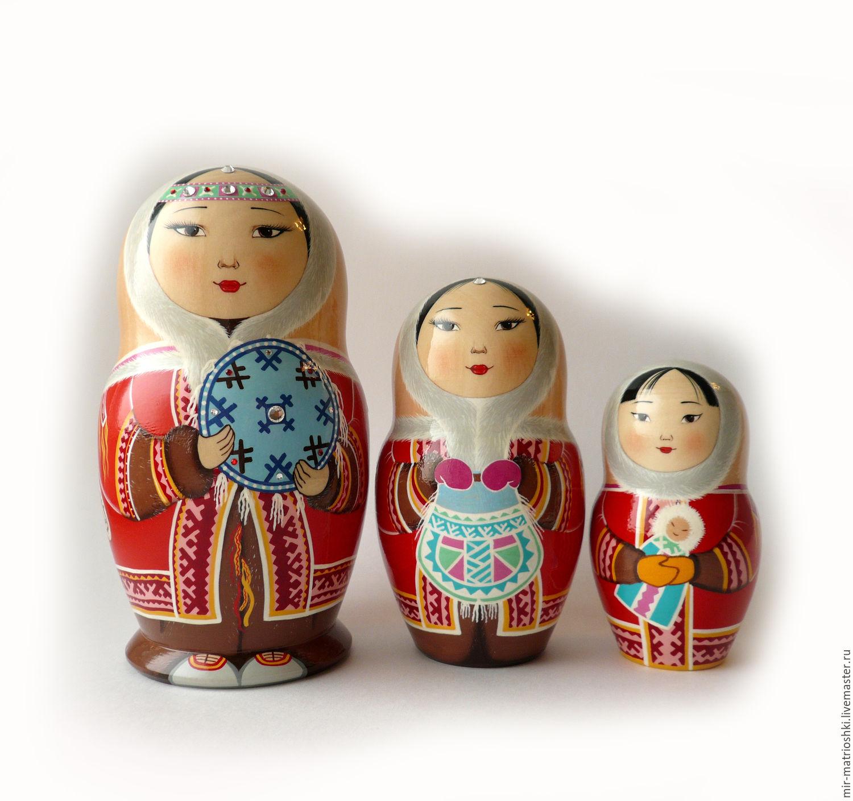 Matryoshka 3 local 'Nenets' 1, Dolls1, Sarov,  Фото №1