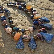 """Украшения ручной работы. Ярмарка Мастеров - ручная работа ожерелье """"Раджастан""""резерв. Handmade."""