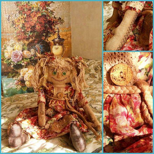 Элементы интерьера ручной работы. Ярмарка Мастеров - ручная работа. Купить Чердачная ароматная кукла. Handmade. Чердачная кукла
