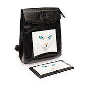 Сумки и аксессуары ручной работы. Ярмарка Мастеров - ручная работа Комплект рюкзак 2 White Cat. Handmade.