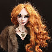Куклы и игрушки handmade. Livemaster - original item Dolls Dana, red-haired beast. Handmade.