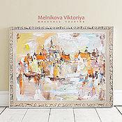 """Картины и панно ручной работы. Ярмарка Мастеров - ручная работа Картина маслом """"Любимая Венеция"""" 50/60 см. Handmade."""