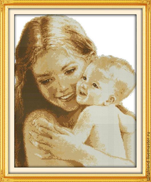 Набор для вышивания `Счастье материнства`