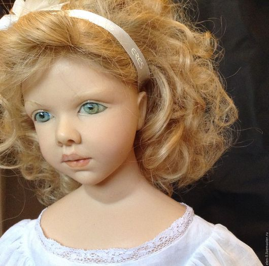 Винтажные куклы и игрушки. Ярмарка Мастеров - ручная работа. Купить Кукла Heloise Lemasson Франция. Amandine. Лимитированная серия. Handmade.