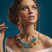 Украшения handmade. Livemaster - original item Summer necklace goldfish. Handmade.
